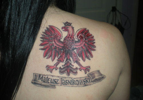 Back Tattoo Lion Crown