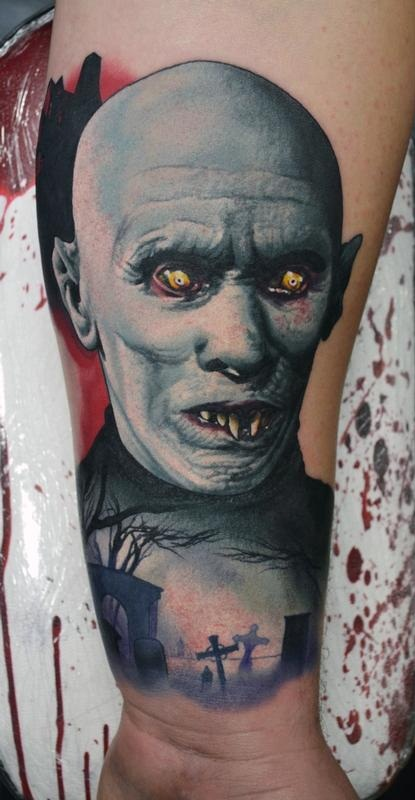 Vampire Tattoos Designs Ideas and Meaning Tattoos For You