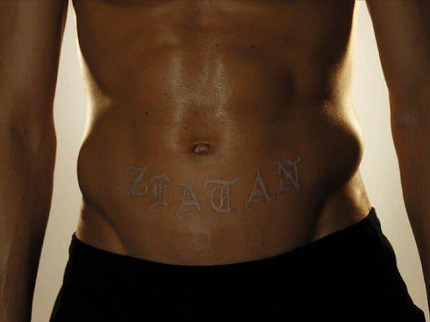 White Ink On Black Tattoo: White Ink Tattoos On Black People