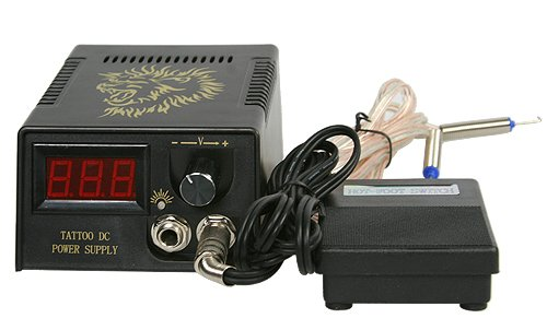 Tattoo Gun Kit By Fancier S-T06 Tattoo Kit power supply
