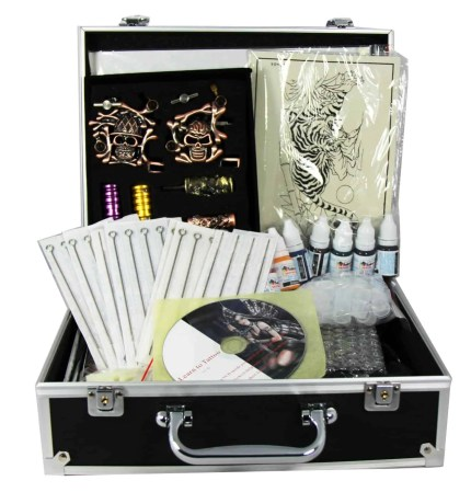 Tattoo Kit with 4 guns set