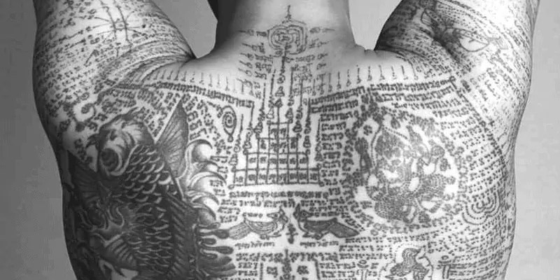Traditional Tattoo Made in Thailand
