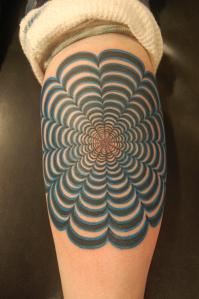 Optical Illusion Tattoo Images Designs
