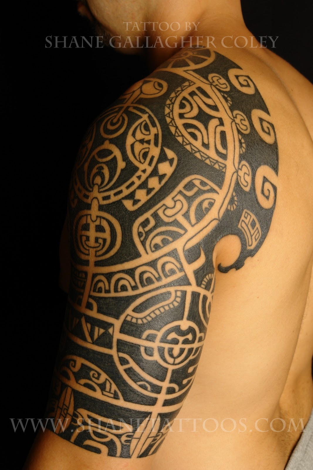 Black Jesus Tattoos Men