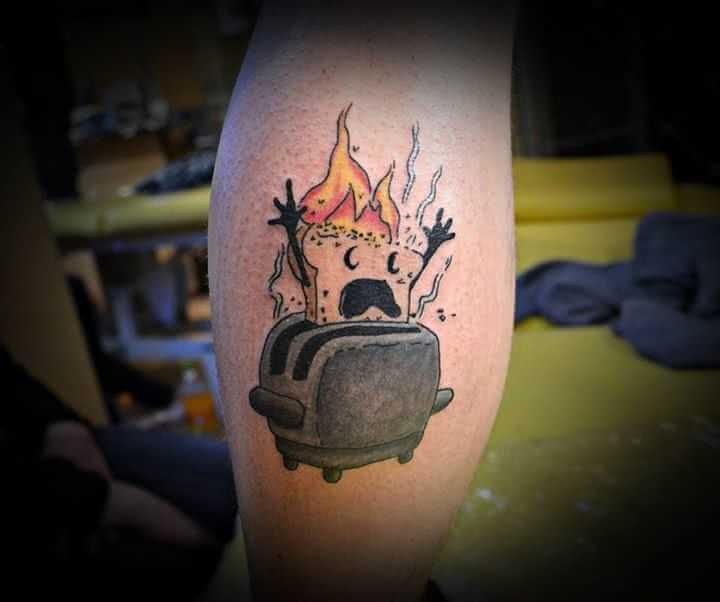 Tattoo Bein tattoo Comic
