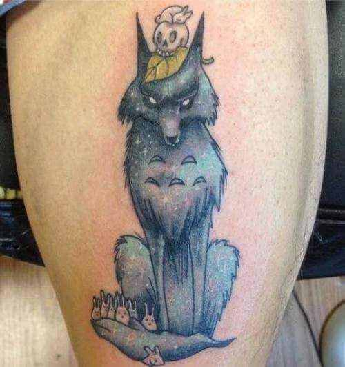 Tattoo Comic Wolf