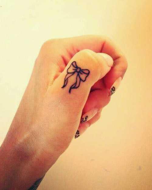 Tattoo Hand Tattoo Schleife