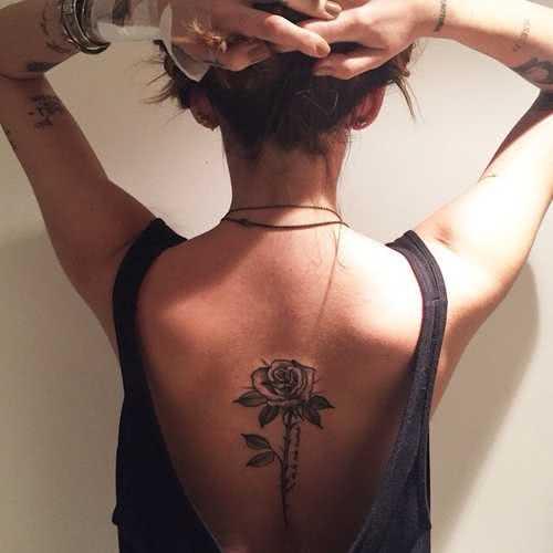Tattoo Rücken Tattoo Rose