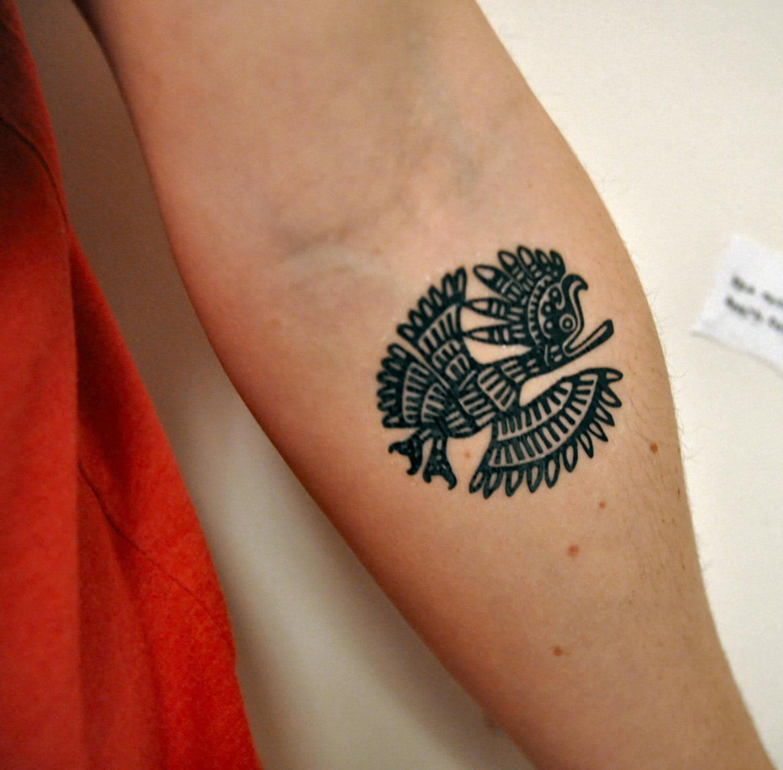 Tattoo Aztekischer Adler
