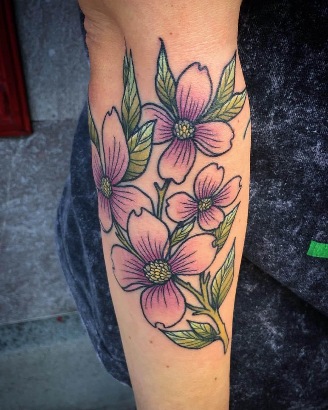 Tattoo Blumenstrauch