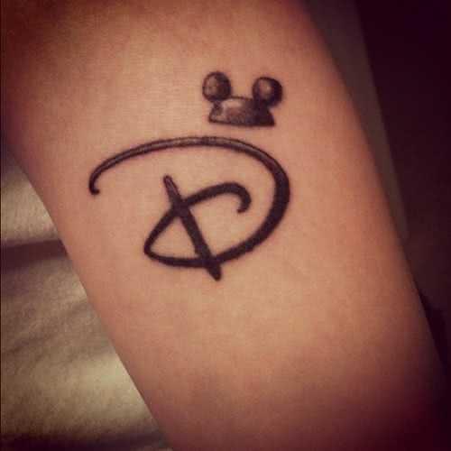 Tattoo Disney Logo