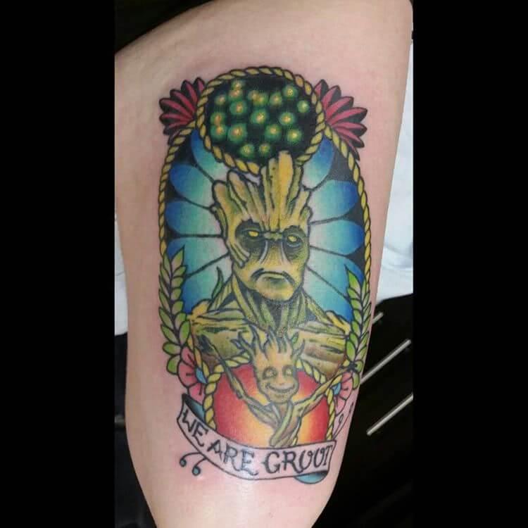 Tattoo Groot Tattoo