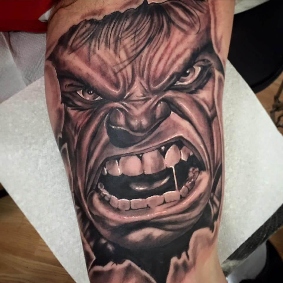 Tattoo Hulk Tattoo