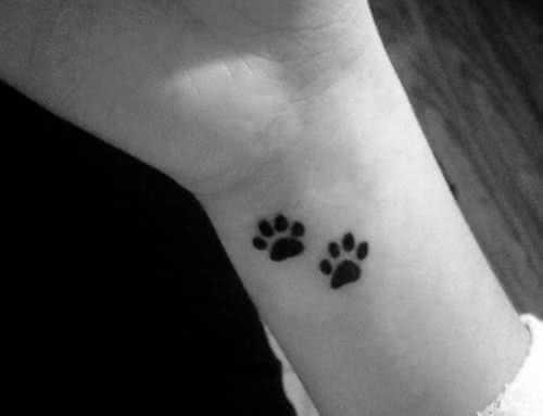 Tattoo Katzen Tatzen Handgelenk :)