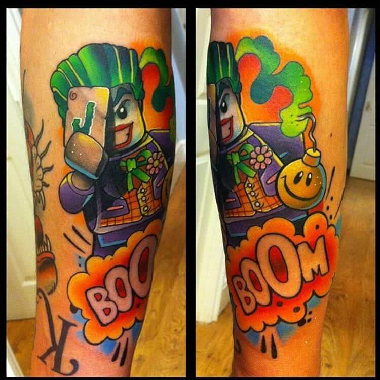 Tattoo Lego Joker Tattoo
