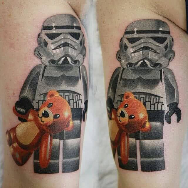 Tattoo Lego Star Wars