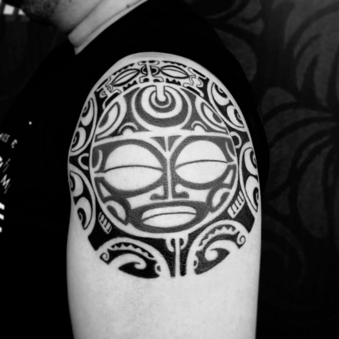 Tattoo Maori Maske
