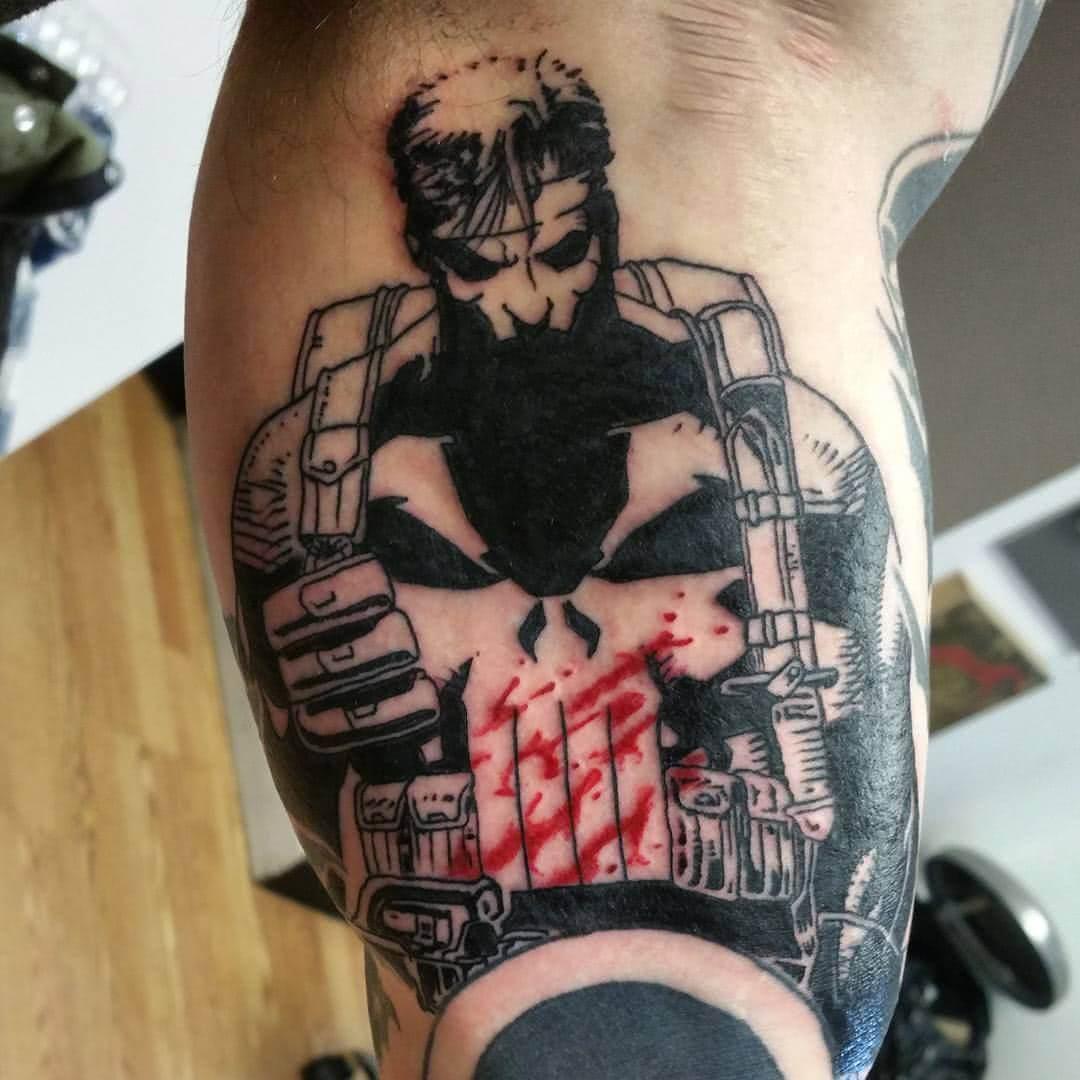 Tattoo PUNISHER