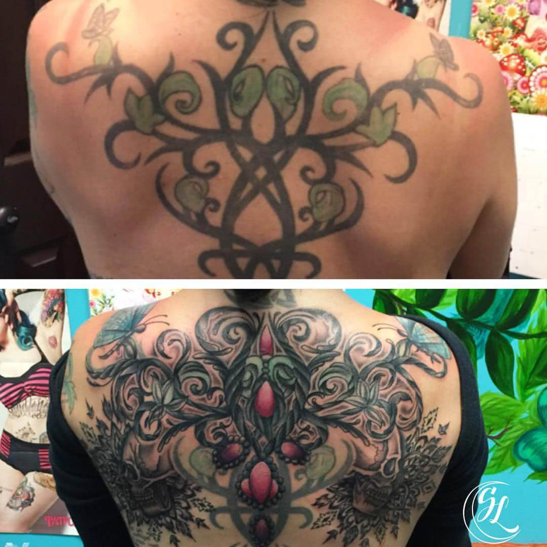 Tattoo Tribal Cover Up