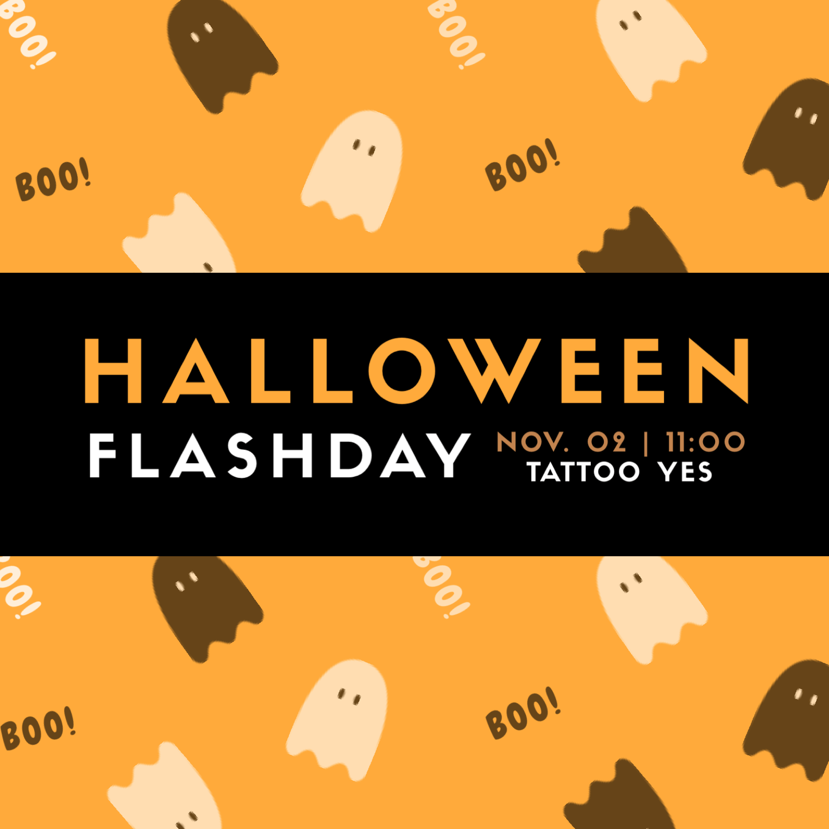 Halloween Flashday – 02 de Novembro 2019