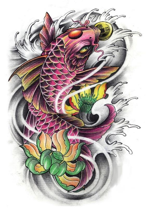Carpa Koi significado del tatuajes Loyal Tattoo