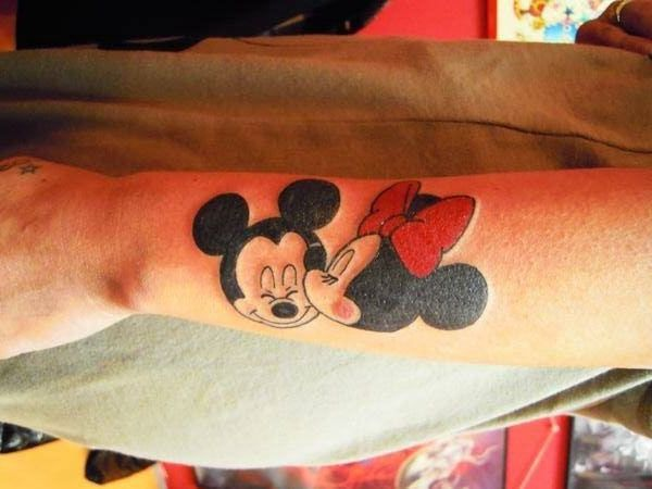 Ideas Para Tatuajes De Mickey Mouse Y Disney ⋆ Tatuajes