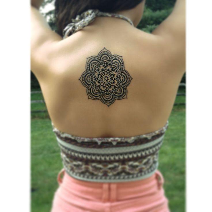 Mandala Geom 233 Trica Tatuajes Para Mujeres