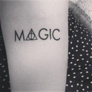Frase: Magic de Harry Potter