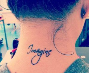 Frase: Imagine