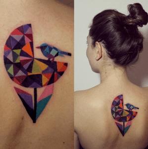 Pájaro y flor by Sasha Unisex