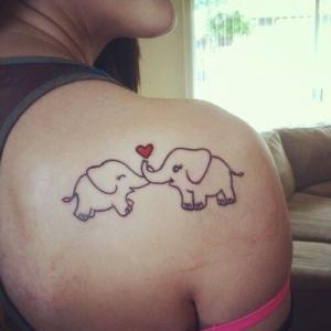 Elefantes Enamorados