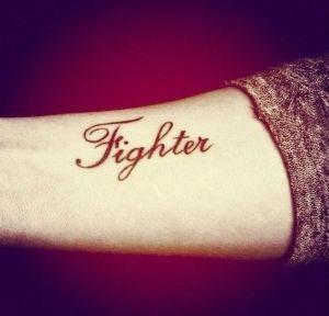 Frase: Fighter