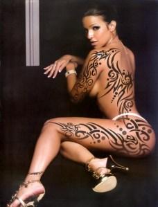 Tatuaje Tribal Femenino
