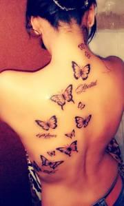 Frase: Fe, Amor, Libertad y Mariposas