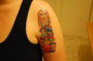 Lechuza sobre Libros