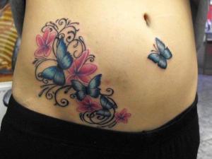 Mariposas, Flores y Firuletes