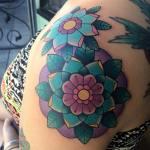 Mandalas Flores by Alex Strangler