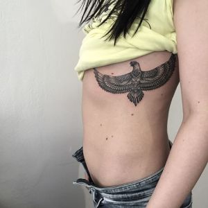 Aguila by Sashatattooing