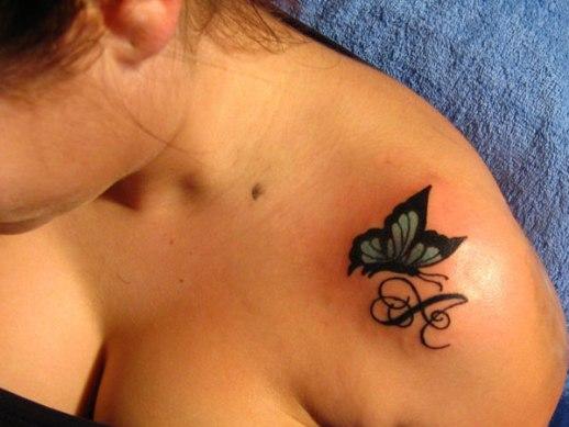 Mariposa e Inicial