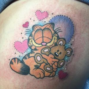 Gato Garfield by Alex Strangler