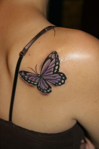 Mariposa en 3D
