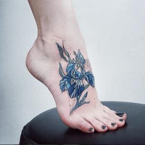 Flores por Alisa Tesla