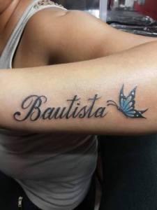 Nombre y Mariposa