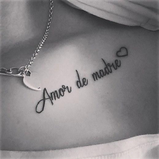 Frase: Amor de Madre y Corazón