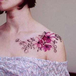 Flores estilo enredadera por Diana Severinenko