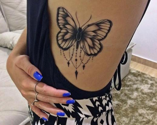 mariposa tatuajes para mujeres. Black Bedroom Furniture Sets. Home Design Ideas