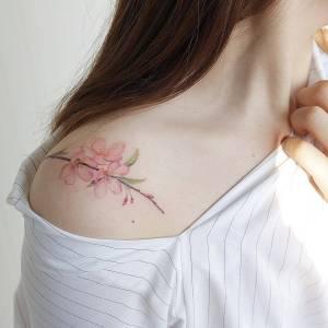 Ramillete de Flores de Cerezo