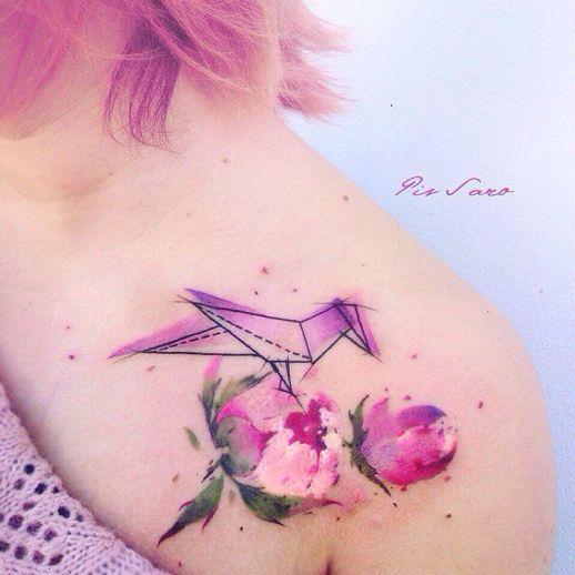 Pis Saro Botanical Tattoo Artist