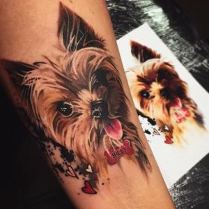 Perro por Lili Krizsan