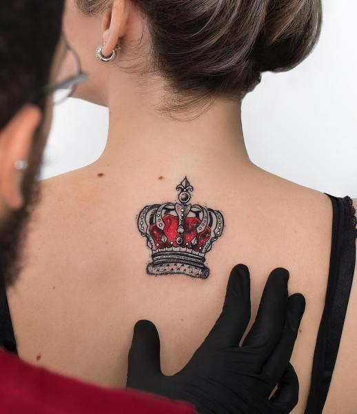 Corona roja